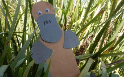 Make a Platypus Bookmark!